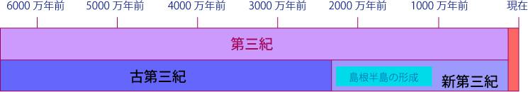 新生代の化石   ジオ学習 島根半島・宍道湖中海ジオパーク